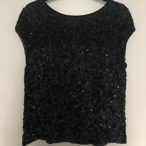 All Saint all over sequin top